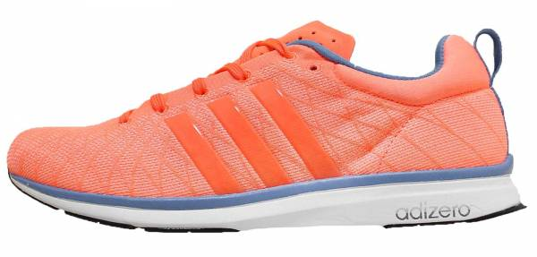 Adidas Adizero Feather 4 woman orange/blue/white