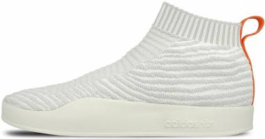 Adidas Adilette Primeknit Sock - White