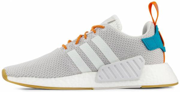 Adidas NMD_R2 Summer  - Crystal White Grey Gum