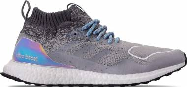 Adidas Ultraboost Mid - Light Granite Light Granite Silver Metallic (EE3732)