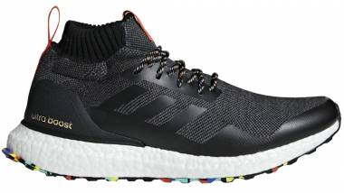 Adidas Ultraboost Mid - Black-multi Color