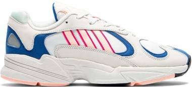 Adidas Yung-1 - Crystal White Clear Orange Collegiate Royal (BD7654)