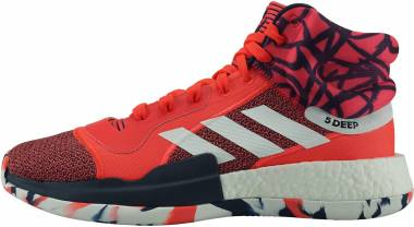 Adidas Marquee Boost - Shock Red White Collegiate Navy
