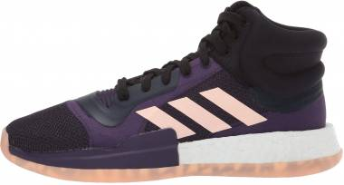 Adidas Marquee Boost Collegiate Navy/Grey/Legend Purple Men