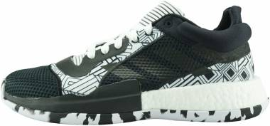 Adidas Marquee Boost Low - Noir Blanc Noir