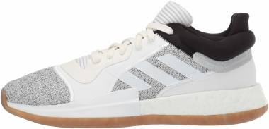 Adidas Marquee Boost Low - Off White White Black (D96933)