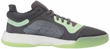 Adidas Marquee Boost Low - Carbon/Glow Green/Grey (G26214)