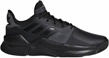 Adidas Streetflow Black/Black/Grey Men