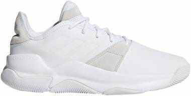 Adidas Streetflow White/White/Raw White Men
