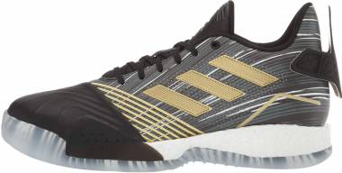 Adidas T-Mac Millennium - Black/Gold Metallic/Dark Grey Heather Solid Grey