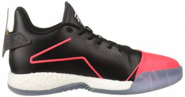 Adidas T-Mac Millennium - Black Shock Red Dark Grey Heather Solid Grey (EE3730)