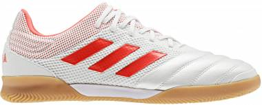 Adidas Copa 19.3 Indoor Sala - Off White/Solar Red/Gum M1 (D98065)