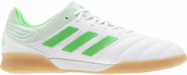 Adidas Copa 19.3 Indoor Sala White/Solar Lime/Gum Men