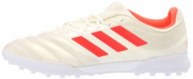 Adidas Copa 19.3 Turf - Off White/Solar Red/White (BC0558)