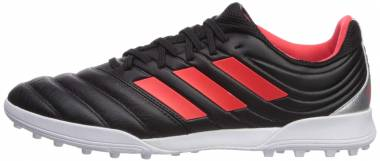 Adidas Copa 19.3 Turf - Black/Hi-res Red/Silver Metallic (F35506)