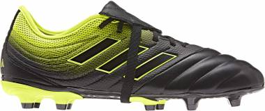 Adidas Copa Gloro 19.2 Firm Ground Black/Black/Solar Yellow Men