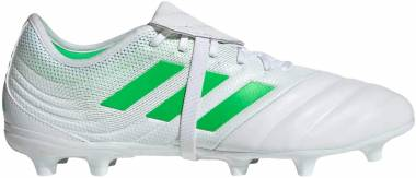 Adidas Copa Gloro 19.2 Firm Ground - White/Solar Lime/White (D98062)