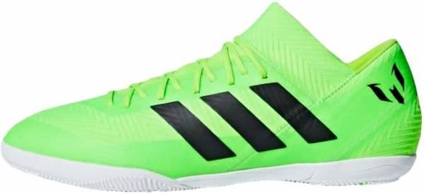 Adidas Nemeziz Messi Tango 18.3 Indoor - Solar Green/Black/Solar Green (AQ0618)