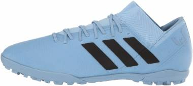 Adidas Nemeziz Messi Tango 18.3 Turf - Ash Blue/Black/Raw Grey