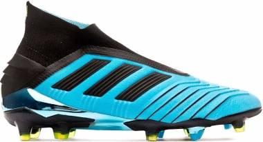 Adidas Predator 19+ Firm Ground - Türkis