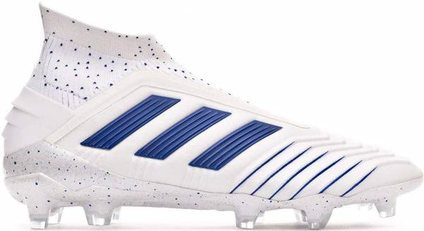 Adidas Predator 19+ Firm Ground - White (BC0548)