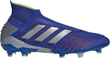 Adidas Predator 19+ Firm Ground - Bold Blue-silver Metallic-active Red