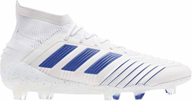 Adidas Predator 19.1 Firm Ground - White