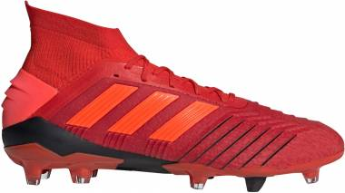 3021b7ab3c4 Adidas Predator 19.1 Firm Ground Active Red Solar Red Core Black Men