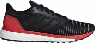 Adidas Solar Drive Core Black / Core Black / Hi Res Red Men