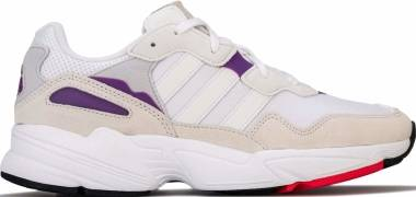 Adidas Yung-96 - White Crystal White Active Purple