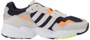 Adidas Yung-96  Collegiate Navy/Raw White/Solar Orange Men