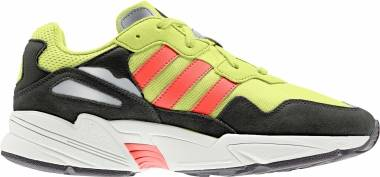 Adidas Yung-96  - Hi Res Yellow / Solar Red / Off White