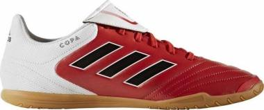 Adidas Copa 17.4 Indoor - Multi Colored Rojo Negbas Ftwbla