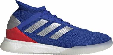 Adidas Predator 19.1 Trainers - Bold Blue/Cloud White/Active Red (BB9081)