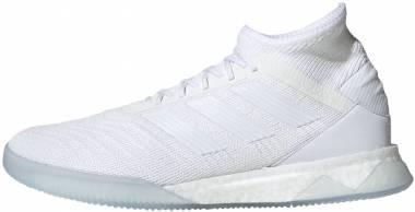 Adidas Predator 19.1 Trainers - Footwear White/Footwear White/Football Blue