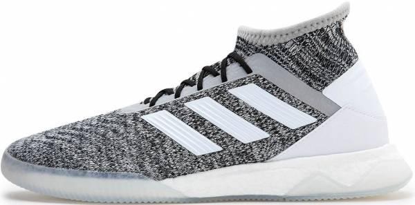 Adidas Predator 19.1 Trainers - Grey White Blue