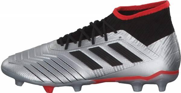 Adidas Predator 19.2 Firm Ground - silber