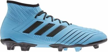Adidas Predator 19.2 Firm Ground - Bright Cyan/Black/Solar Yellow (F35604)