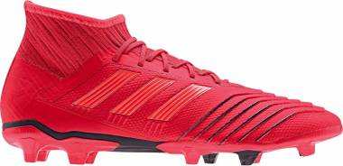 27cfe157f Adidas Predator 19.2 Firm Ground Active Red Solar Red Black Men