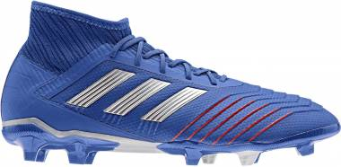 Adidas Predator 19.2 Firm Ground - Bold Blue/Silver Metallic/Football Blue