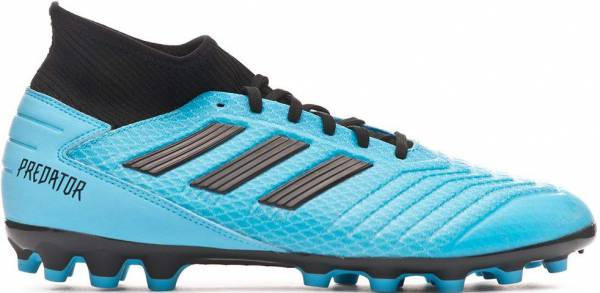 Adidas Predator 19.3 Artificial Grass - Blue Bright Cyan Core Black Solar Yellow Bright Cyan Core Black Solar Yellow (F99990)