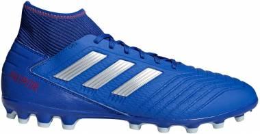 Adidas Predator 19.3 Artificial Grass - Blue Boblue Silvmt Actred 000 (BC0297)