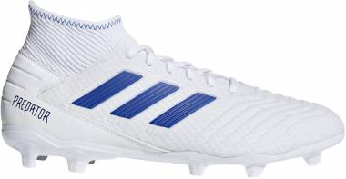 Adidas Predator 19.3 Firm Ground - White/Blue (BB9333)