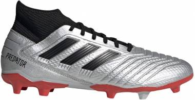 Adidas Predator 19.3 Firm Ground - Silver/Black