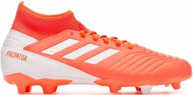 Adidas Predator 19.3 Firm Ground - Hi Res Coral White Glow Pink