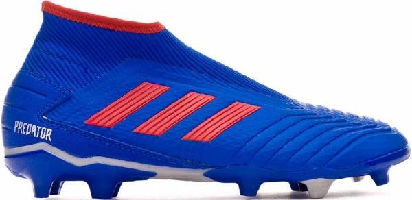 Adidas Predator 19.3 Laceless Firm Ground - blau (F99731)