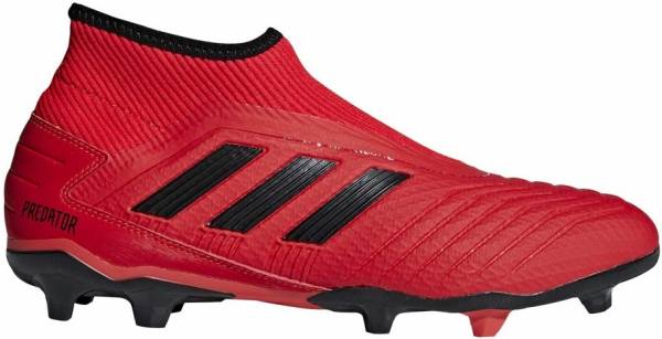 Adidas Predator 19.3 Laceless Firm Ground - Red