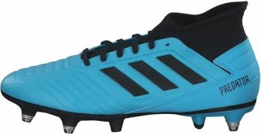 Adidas Predator 19.3 Soft Ground - Bright Cyan Core Black (EF8033)