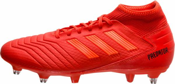 Adidas Predator 19.3 Soft Ground Red