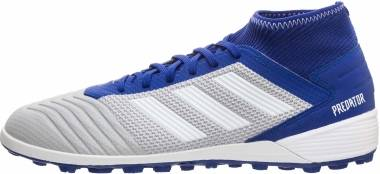 Adidas Predator 19.3 Turf - Grey/White/Bold Blue (BC0555)